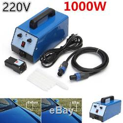 Blue 1000W 220V Electromagnetic Hot Box Car Body Dent Removal Paintless Repair