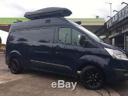 Brand New 16 Ford Transit Custom Gloss Black Mk9 Mk8 Mk7 Limited Alloy Wheels