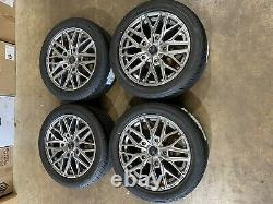 Brand new set of 18 alloy wheels and tyres Ford Transit Custom Mk7