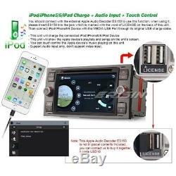 Car Stereo DVD CD SatNav Radio FORD FOCUS C-MAX KUGA FIESTA TRANSIT iPod 3G DAB+