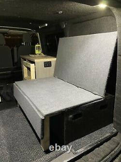Custom Made Campervan Bed/seat VW Ford Transit Custom