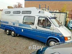 Custom built ford transit motorhome camper unique px