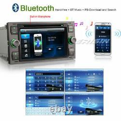 DAB+ Car Stereo GPS Satnav Bluetooth FORD Focus Fiesta Kuga Transit C-Max Galaxy