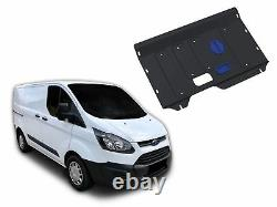 ENGINE + GEARBOX GUARD SKID PLATE UNDERTRAY for FORD TRANSIT CUSTOM 2013-2017