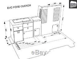 EVO 2.5 Ford transit Custom- short wheel base