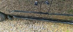 FORD CUSTOM TRANSIT LIMITED 2014 50k MILES HIGH SPEC NO VAT PANTHER BLACK