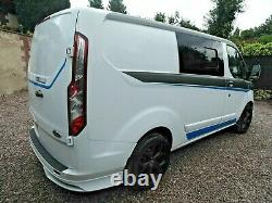 FORD TRANSIT CUSTOM 2.2 TDCi L1 RS EDITION 6 SEAT CREW CAB 100ps 2015 65 Plate