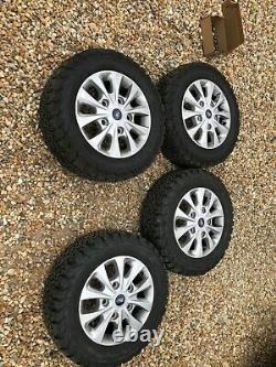 FORD TRANSIT CUSTOM (2018) 16 Genuine Alloy Wheels With BFG ALL TERRAIN TYRES