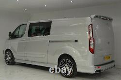 FORD TRANSIT CUSTOM FRONT WING BODY STYLE KIT Bumper, spoiler upgrade conversion