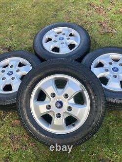 Factory 16 Ford Transit Custom Limited Sport Alloy Wheels Tyres Mk9 Mk8 Mk7