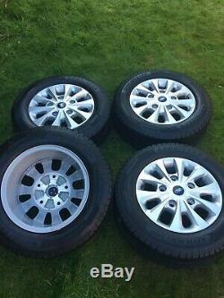Factory 16 Ford Transit Custom Mk8 Mk7 Mk6 Limited Alloy Wheels Goodyear Tyres