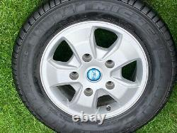 Factory 16 Ford Transit Custom Mk9 Mk8 Mk7 Limited Alloy Wheels Ex Tyres