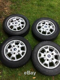 Factory 16 Ford Transit Custom Silver Mk9 Mk8 Mk7 Limited Alloy Wheels Rims
