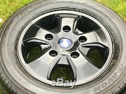 Factory Ford Transit Gloss Black Mk8 Mk7 Mk6 Limited Alloy Wheels Tyres
