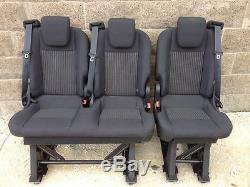 Folding Removable Triple Bench Seats Ford Custom Transit