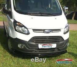 Ford Custom 2012-2018 Abs Front Splitter Spoiler Lower Splitter
