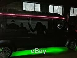 Ford Transit 100 Custom 3.0 LWB Alien VS Predator Camper Day Van Motorhome
