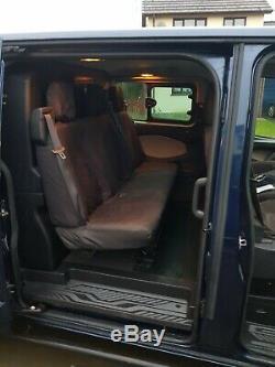 Ford Transit 290 Lwb Custom Crew Van Kombi Van 6 Seater 155 Limited