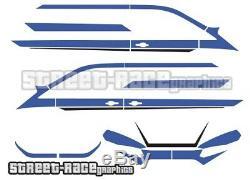 Ford Transit CUSTOM full 030A racing stripes graphics M-SPORT (UK)
