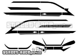 Ford Transit CUSTOM full 031A racing stripes graphics M-SPORT (UK)