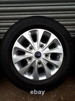Ford Transit Custom 16'' Set Of Alloy Wheels and Tyres