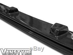 Ford Transit Custom 18 Lower Abs Gloss Black Splitter Spoiler Bumper Lip Add On