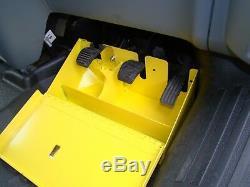 Ford Transit Custom (2012 2019) High Security Locking Pedal Box TVL