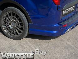 Ford Transit Custom 2018 Rear Bumper Skirt Spoiler Valance Splitter Diffuser
