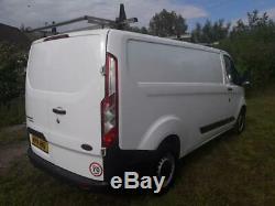 Ford Transit Custom 290 Eco-tech Van 2.2 Tdi In White 2014 14 Reg