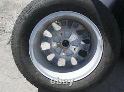 Ford Transit Custom Alloy Wheels And Tyres 215/65r16c Off New Vans