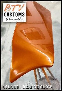 Ford Transit Custom Barn Door Spoiler. Painted Any Colour! Pu Plastic