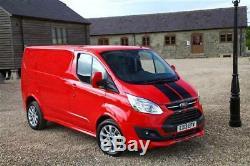 Ford Transit Custom Body kit barn doors/tailgate spoiler & front bumper combo