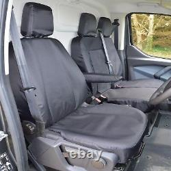Ford Transit Custom CREW CAB Heavy Duty Tailored Seat Covers ALL models 2013-20