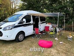 Ford Transit Custom Campervan 2016, 36000 Miles. High Spec, Led Lighting Heating