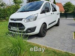 Ford Transit Custom Crew Cab 2.2 LWB 290 TREND 186 BHP NO VAT
