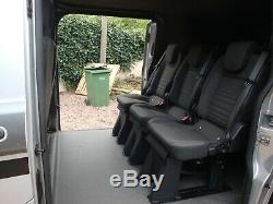 Ford Transit Custom Double Cab 6 Seat Kombi Rs Edition 2015 No Vat