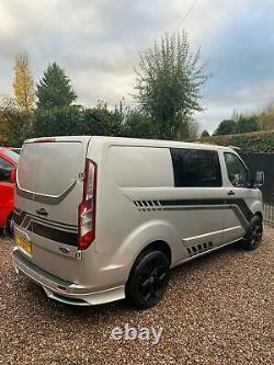 Ford Transit Custom Double Cab 6 Seat Kombi Rs Edition 2016 66 Plate No Vat