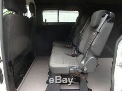Ford Transit Custom Double Cab 6 Seat Kombi Rs Sport Kit 2016 Plate No Vat