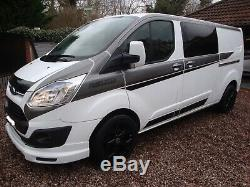 Ford Transit Custom Double Cab Kombi 6 Seater Rs Edition 2016 No Vat