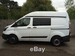 Ford Transit Custom Fixed Side Windows in Privacy Glass Supplied & Fitted