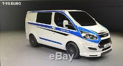 Ford Transit Custom Front & Rear Lowering Springs & Shocks 2014 2018 Eibach