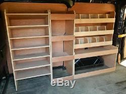 Ford Transit Custom L1 Model Plywood Racking, Van Racking, Van Storage PR317