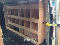Ford Transit Custom LWB Plywood Van Shelving Racking System Case Storage Unit