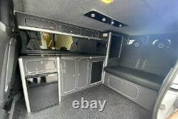 Ford Transit Custom LWB kitchen furniture Assembled camper van lightweight Ply