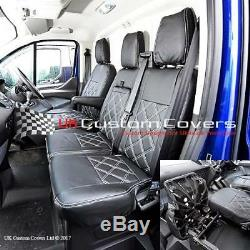 Ford Transit Custom Leatherette Front Seat Covers 2013 On 237