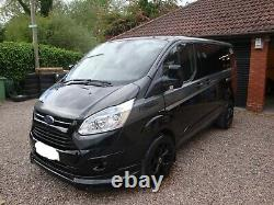 Ford Transit Custom Limited 2.0 Tdci 130ps Crew Cab Rs Edition 2017 Plate No Vat