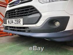 Ford Transit Custom Lower Spoiler Splitter PU Plastic Perfect Fit 12-17