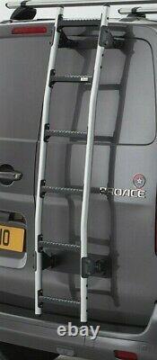 Ford Transit Custom Rear Door Ladder Rhino Aluminium Roof Rack Access Ladder