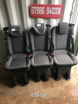 Ford Transit Custom Rear Seats Quick Release Vw T5 Merc Sprinter VX Vivaro