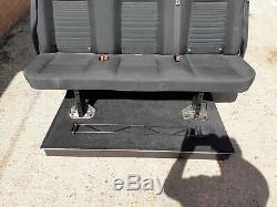 Ford Transit Custom Rear Seats Rear Bench Seat, Bulkhead / Floor And Bolts